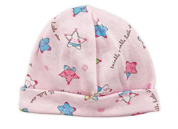 Powder Pink Twinkle Star Light Cotton Hat