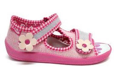 RBG13_140_L_0390_OT Light Pink Canvas Sandals