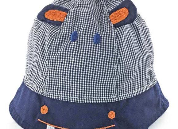 YB_111N_SH Navy Hippo Summer Hat