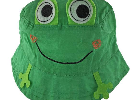 YB_114G_SH Green Summer Bucket Hat