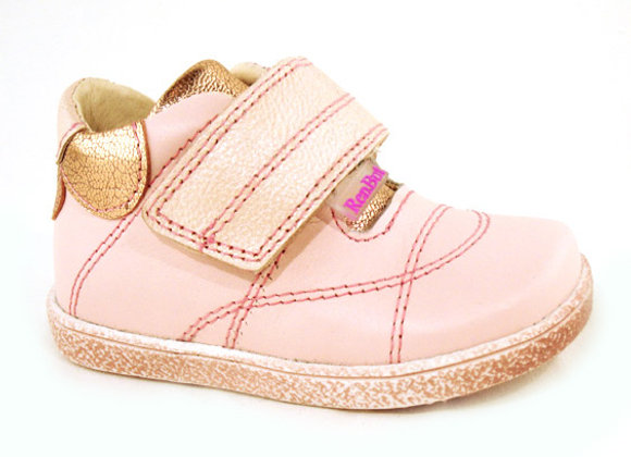 RBG13_1531_HT Powder Pink Leather Shoes