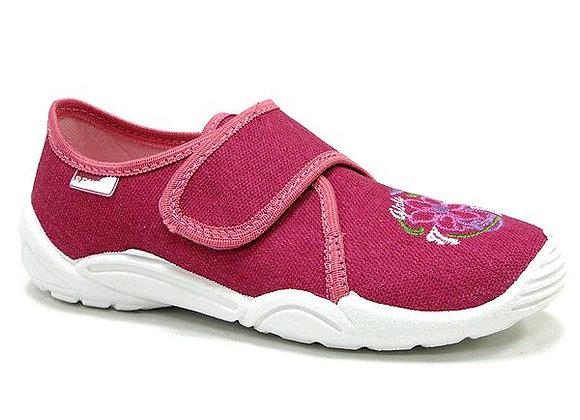 RBG33_373_0164 Mauve Canvas Shoes