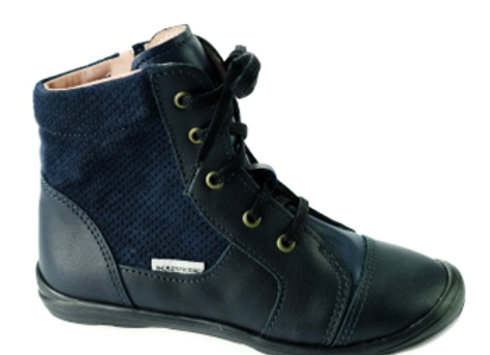 MG246_1263_HT Navy Leather High Tops
