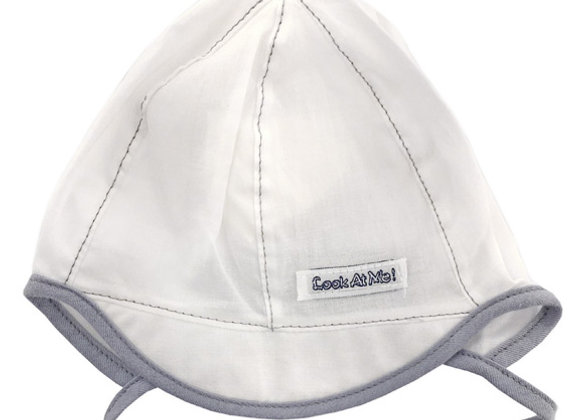 MB_BAM2_SH White Summer Hat