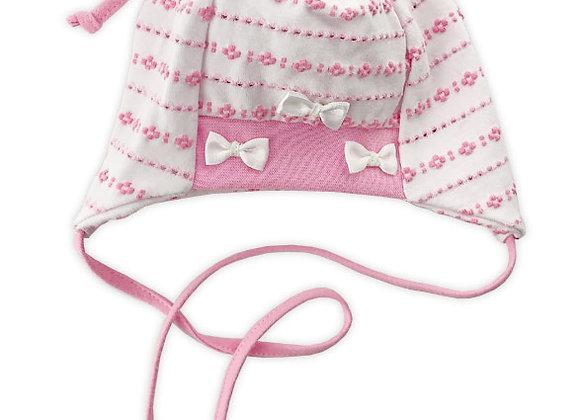 White/Pink Spring Hat