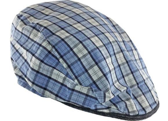 MB_CZESB_SH Blue Checkered Summer Cap