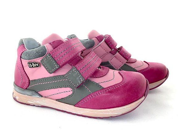RBG23_3267_S Mix Pink Leather Sneakers