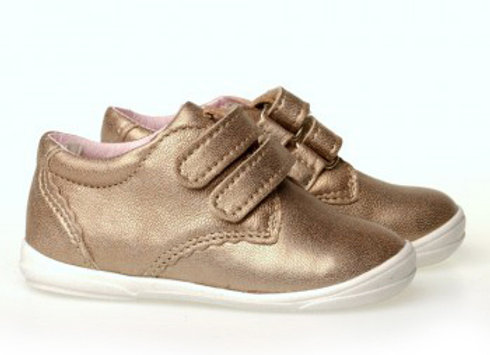 MG_1327_GOLD Leather Sneakers