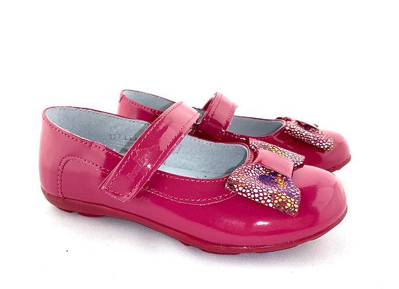 RBG23_3223_D Dark Pink Glossy Mary Jane