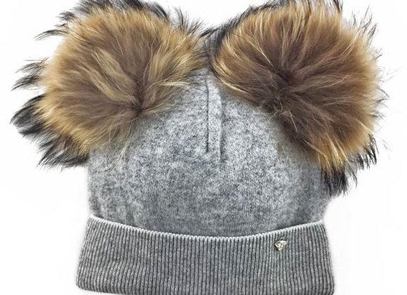 JZC302_J1_WHG Gray Winter Hat