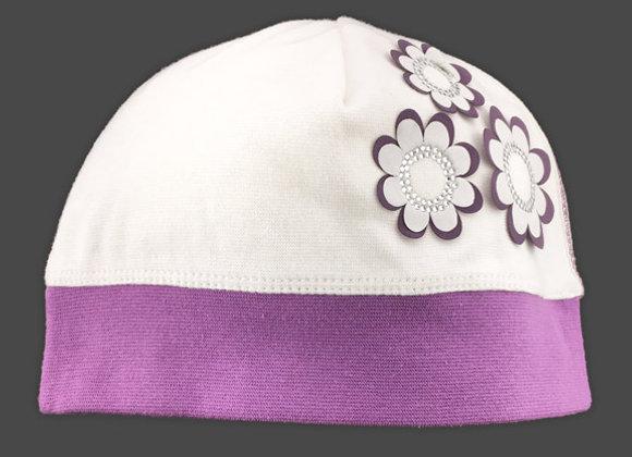MG_1350_SH Ivory/Lavender Spring Hat