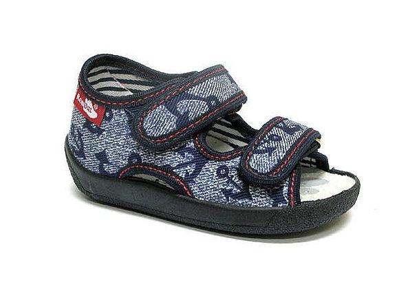 RBB13_112_0717OT Jeans Anchor Canvas Sandals