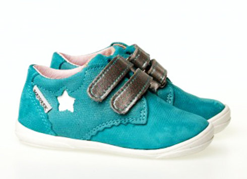 MG_1327_TURQUOISE Leather Sneakers