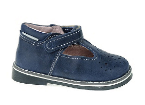 MG2222_323_317D Navy Leather Mary Jane