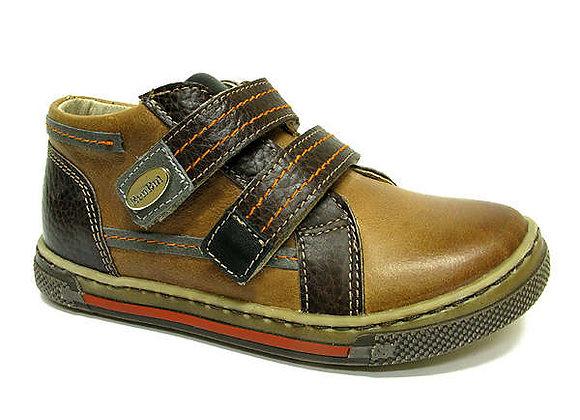 RBB23_3262_0174_D Cognac Leather Shoes
