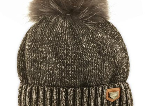 JZC092_J_WHB Black Winter Hat