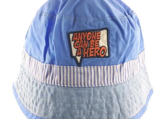 YB_181B_SH Blue-Light Jeans Summer Bucket Hat