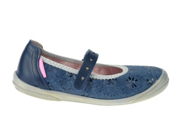 MG1325_1326_D Navy Leather Mary Jane