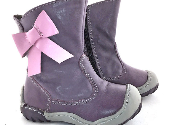 KG03528V_WB Purple Leather Boots