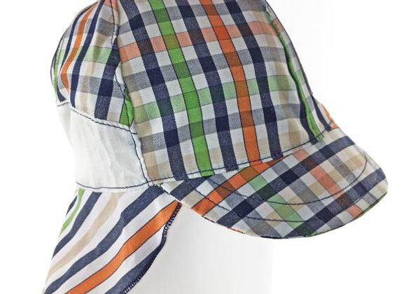 MB_FALO_SH Multi-Color Checkered Sun Hat