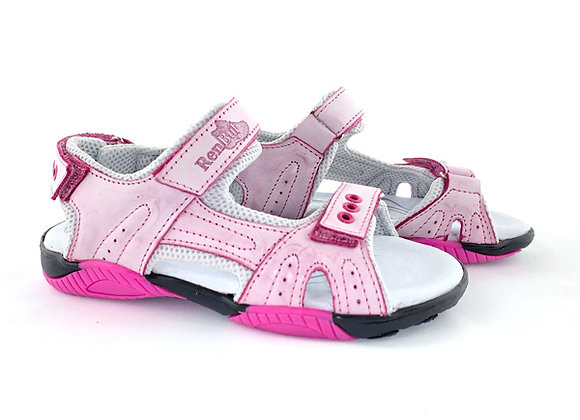 RBG31_4201P_OS Light Pink Leather Sandals