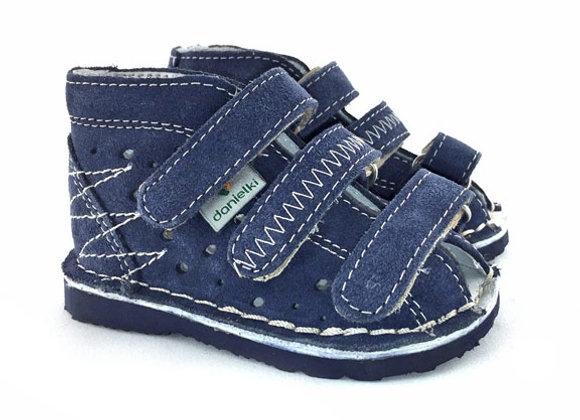 DBS_T105J Jeans Suede Sandals