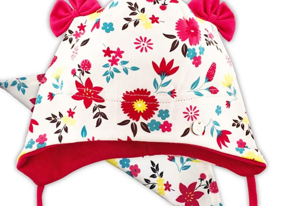 MG_ANIELW_SFH White Floral Spring/Fall Hat