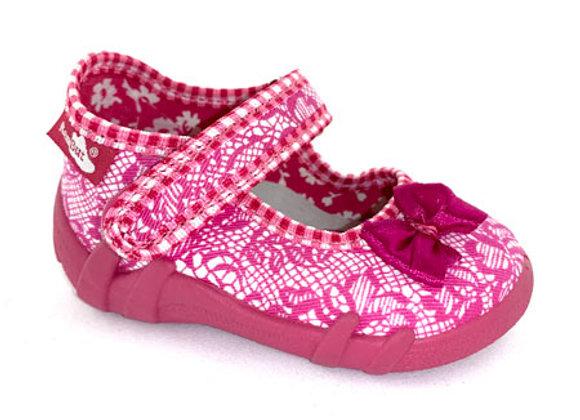 RBG13_139J Pink Canvas Shoes