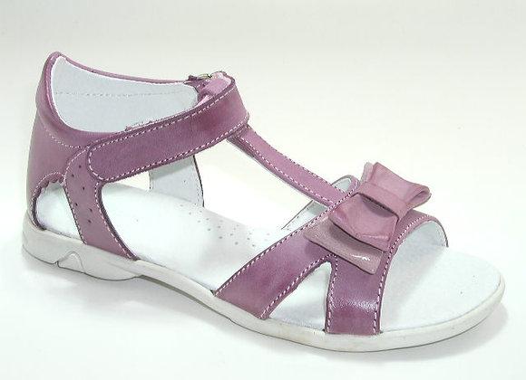 KG3733_OS Purple Pastel Leather Sandals