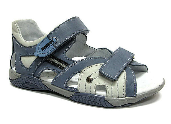 RBB31_4128_0133_OS Jeans Gray Leather Sandals