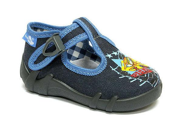 RBB13_102_0150 Gray Car Canvas Shoes