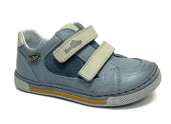 RBB23_3191_0127_S Jeans Leather Sneakers