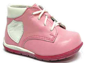 RBG13_068_HT Baby Pink Leather High Tops