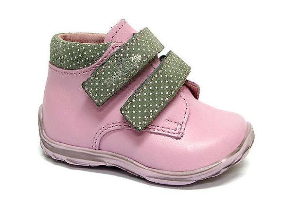 RBG13_1447_0164_HT Powder Pink Leather High Tops