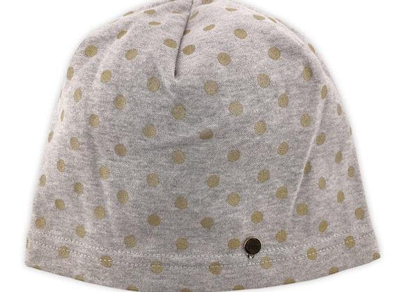 JG_17244_SFH Gray-Polka Dot Spring/Fall Hat