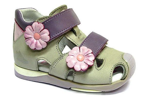 RBG11_1433_0626_CS Gray Leather Sandals