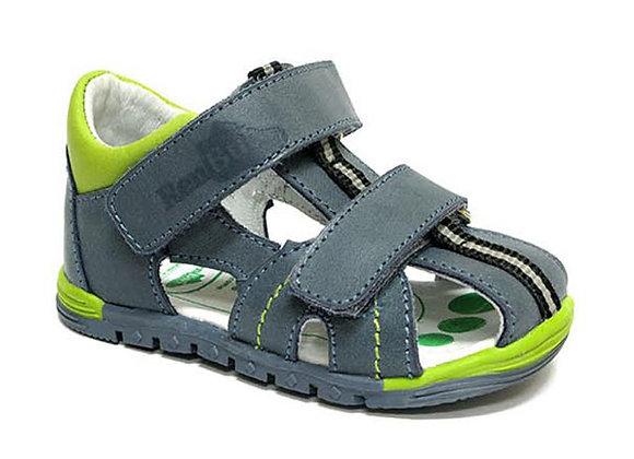 RBB11_1441J_CS Blue Leather Sandals