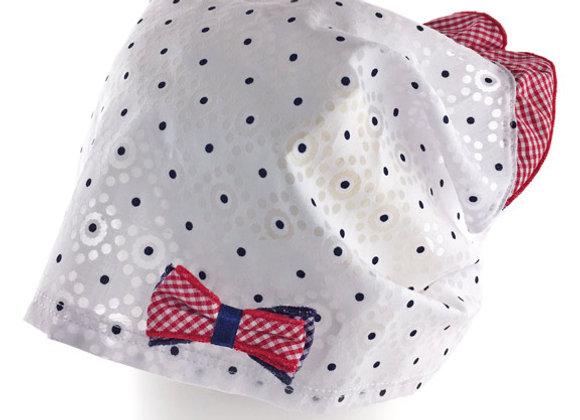 JG_17045_SH White Polka Dot Summer Bandana