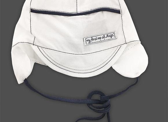MB_DAMN_SH White Summer Hat