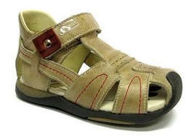 RBB11_26600_0049_CS Beige Leather Sandals