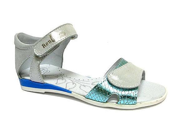 RBG31_4333_0627_OS Silver/Blue Leather Sandals