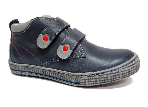 RBB33_4329_0122_HT Navy Leather Shoes