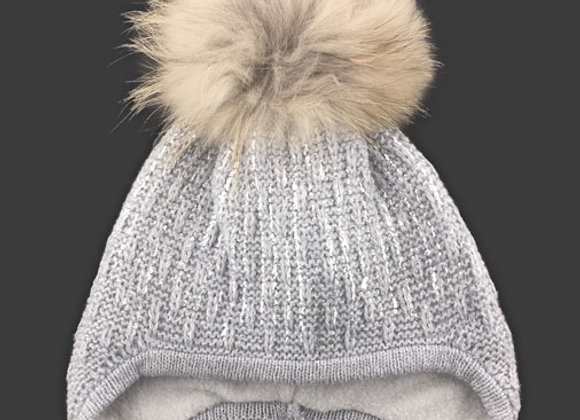JZA092G_J_WHG Silver Gray Winter Hat