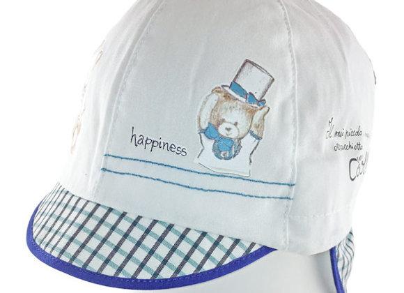 JB_17023_SH White Summer Hat
