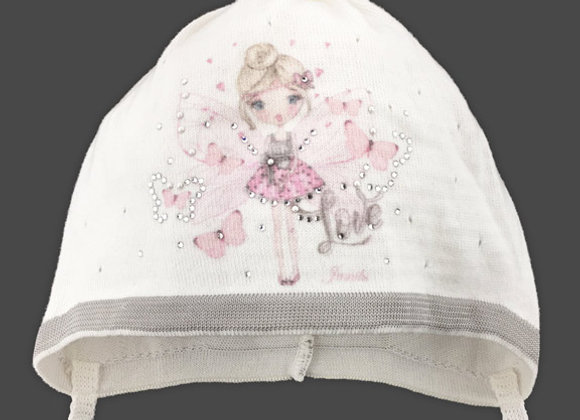 Ivory Little Fairy Spring Hat