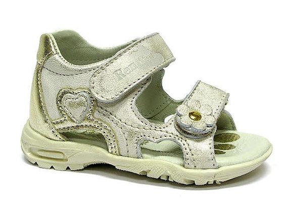 RBG11_1448_0401_OS Gold Leather Sandals