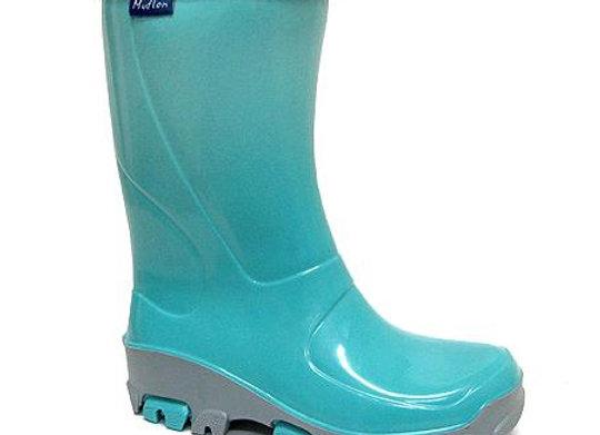 RBG33_492_0304_R Teal Rain Boots