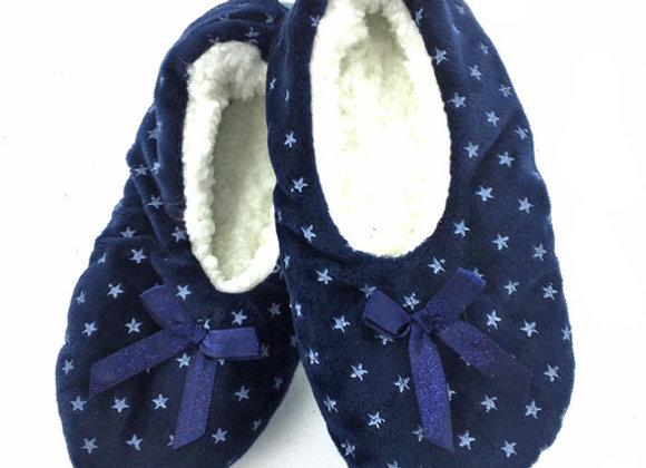 YGS_N Navy Star Slippers
