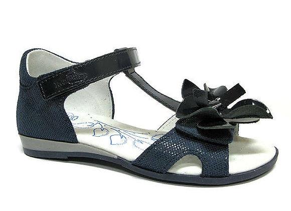 RBG31_4254_0112_OS Navy Leather Sandals