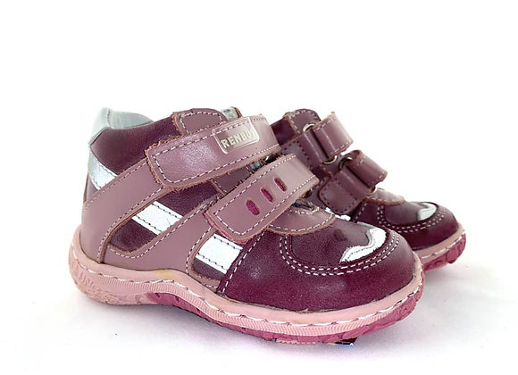 RBG13_1363_S Heather-Pink Leather Sneakers